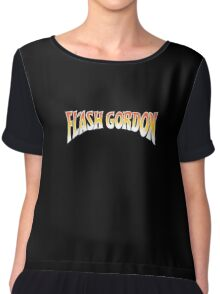 Flash Gordon - Original Movie Logo Chiffon Top