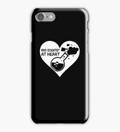 Mad Scientist at Heart iPhone Case/Skin
