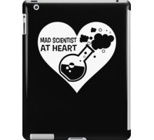 Mad Scientist at Heart iPad Case/Skin