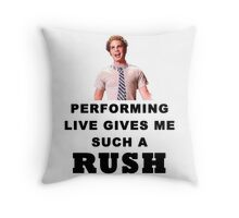 Benji - Performing Live Quote Throw Pillow