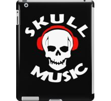 Vintage SKULL Music  iPad Case/Skin