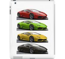 Four Lambo iPad Case/Skin