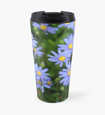 Periwinkle Flowers Travel Mug