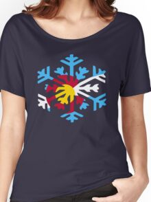 Colorado Snow Women's Relaxed Fit T-Shirt