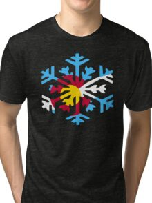 Colorado Snow Tri-blend T-Shirt
