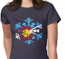Colorado Snow Womens Fitted T-Shirt
