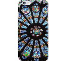 A feast for the eyes! Notre-Dame Paris, North Rose (1) - click to enlarge iPhone Case/Skin