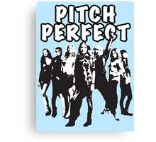 Pitch Perfect Cast Edit Canvas Print