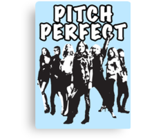 Pitch Perfect Cast Edit Canvas Print