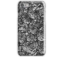 Abstract Black and white Nature pattern iPhone Case/Skin
