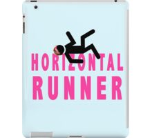 Horizontal Runner iPad Case/Skin