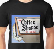 Coffee Shop sign Unisex T-Shirt