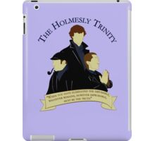 The Holmesly Trinity iPad Case/Skin