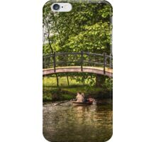 Boating On The Thames At Oxford iPhone Case/Skin