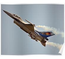 Belgian Air Force F-16 Falcon(350th Squadron) Poster