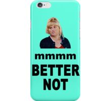 Crystal Meth Quote - Fat Amy iPhone Case/Skin