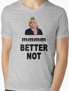 Crystal Meth Quote - Fat Amy Mens V-Neck T-Shirt