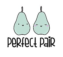 Perfect Pair Photographic Print