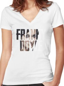 Franky Doyle Women's Fitted V-Neck T-Shirt