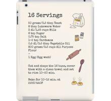 Recipe For Disaster iPad Case/Skin