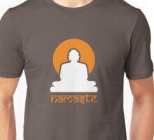 Buddha Rising Sun Namaste Unisex T-Shirt