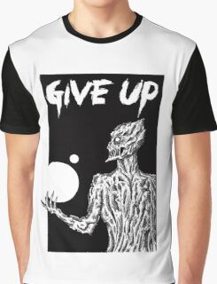 Give Up Ink Demon. Graphic T-Shirt