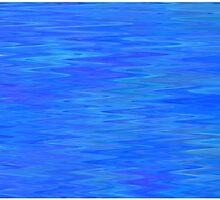 Peaceful Blue Ripple by Betty Mackey