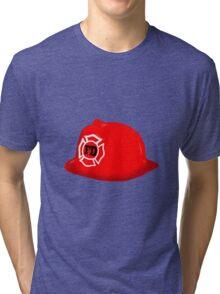 Fireman Hat Tri-blend T-Shirt