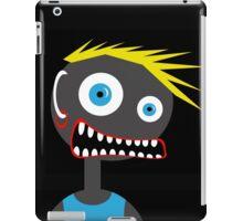 Crazy blond man iPad Case/Skin