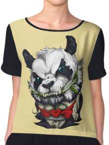 Panda vampire Chiffon Top