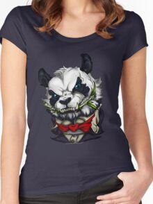 Panda vampire Women's Fitted Scoop T-Shirt