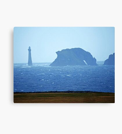 Chicken Rock Lighthouse & Drinking Dragon Rock Canvas Print