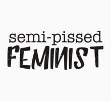 Semi-pissed feminist One Piece - Short Sleeve
