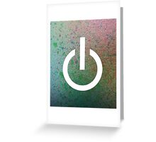 Power Up Greeting Card