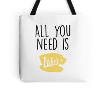 Gilmore Girls - All you need is Luke's Tote Bag