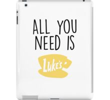 Gilmore Girls - All you need is Luke's iPad Case/Skin