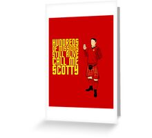 Kilted Scotty Still Lives Greeting Card