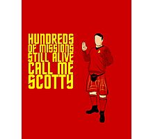 Kilted Scotty Still Lives Photographic Print