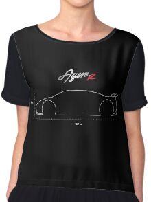 Koenigsegg Agera R Black Chiffon Top