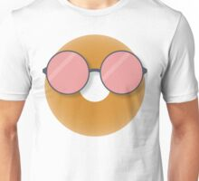 Bagel with Glasses 0 Unisex T-Shirt