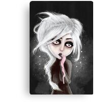 too dark to be sure Canvas Print