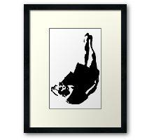 Mermaid Dancing Logo Framed Print