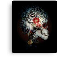 Skull I Black Series Canvas Print