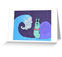 tidal snail Greeting Card