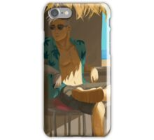 voltron ld shiro chillin in the shade iPhone Case/Skin