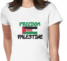 Freedom for Palestine Womens Fitted T-Shirt