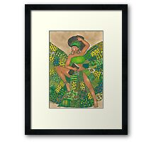My Love is too Music... Framed Print