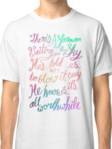 """Starman"" – David Bowie Lyrics, Hand Lettering Classic T-Shirt"