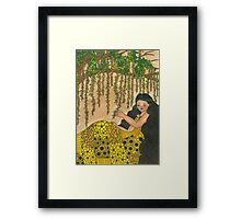 My Love is too Delicate... Framed Print