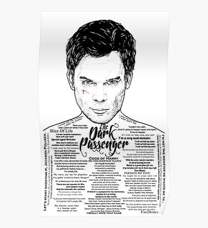 Dexter The Dark Passenger Poster